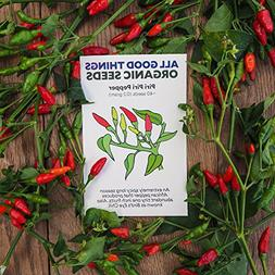 All Good Things Organic Seeds Piri Piri / African Bird's Eye