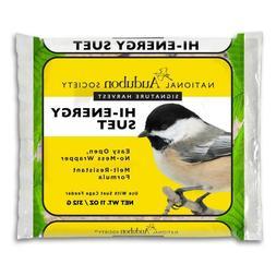 Premium Bird Hi-Energy Food Suet Easy Open, No Mess 11.75 oz