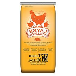 Tucker Milling 16% Protein Layer Mini Pellet Poultry Feed -
