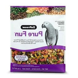 ZuPreem Pure Fun Bird Food, Available for Various Sizes 2lb