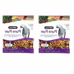 ZuPreem Pure Fun Enriching Variety Parrots & Conures Bird Fo