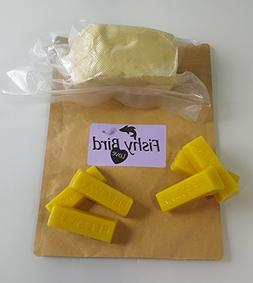 Raw African Shea Butter Unrefined 1 pound &  1 ounce Yellow
