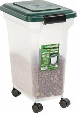 IRIS Remington Airtight Pet Food Storage Container, 22-Pound