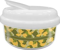 Rubber Duckie Camo Snack Container