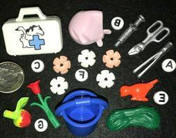 S~5687~CHOOSE 1 PLAYMOBIL Farm Diorama Mini: VET KIT~PAIL~HA