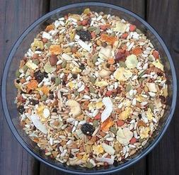 Higgins safflower cockatiel Conure diet natural diet fruit m