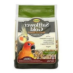 Higgins Safflower Gold Natural Food Mix for Conures & Cockat