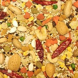 Higgins Safflower Large Parrot Gold Diet Bird, Nut Fruit Mix