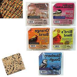 5 Pack Heath Outdoor Products All Season Suet Cake Wild Bird