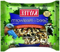 Kaytee Seed & Mealworm Treat Cake High Energy Supplement Foo