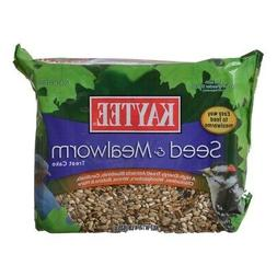 Kaytee Seed & Mealworm Treat Cake
