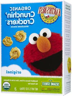 Earth's Best Sesame Street Crunchin' Crackers - Original - 5