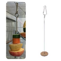Skewer Food Stick Spear Fruit Holder For Bird Parrot Parakee