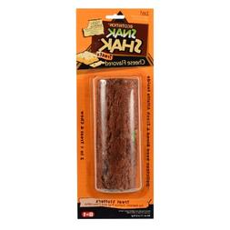 Ecotrition Snak Shak Log with Treat Stuffer, Large, Cheese F