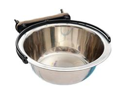 WeiMay Stainless Steel Cage Bowl Pet Feeding Water Food Dish