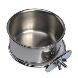 Hypeety Stainless Steel Food Water Bowl For Pet Bird Crates