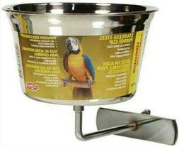 Steel Parrot Cup Stainless Living World