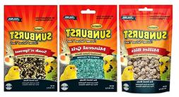 Higgins Sunburst Gourmet Natural Treats 3 Flavor Variety Sam