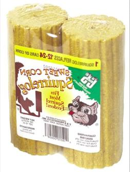 C & S Products Sweet Corn Squirrelog, 12 Count, 2 per set, S