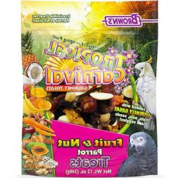 F.M. Brown's Tropical Carnival Fruit & Nut Parrot Treat with