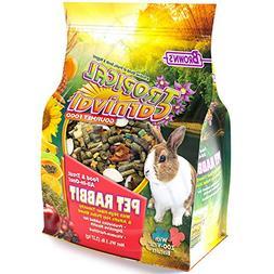 Tropical Carnival F.M. Brown's Gourmet Pet Rabbit Food High-