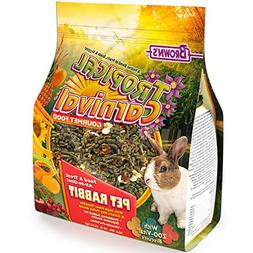 Tropical Carnival F.M. Brown's Gourmet Pet Rabbit Food with