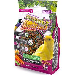 Tropical Carnival Zoo-Vital Canary & Finch Food 1 Lb