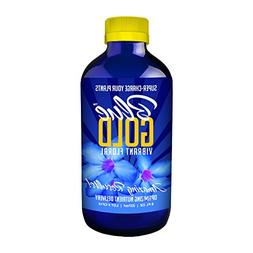 Blue Gold Vibrant Floral Organic Herb & Mineral Wetting Agen