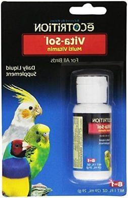 eCOTRITION Vita-Sol Multi-Vitamin for Birds, 1-Ounce