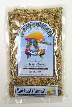 Volkman Seed Featherglow Bird Food Mix 4 lb Pet Small Hookbi