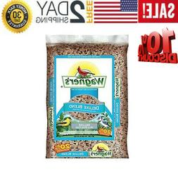 Wagner's 13008 Deluxe Wild Bird Food, 10-Pound Bag New Brand
