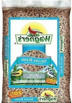 Wagner's 13008 Deluxe Wild Bird Food, 10-Pound Bag