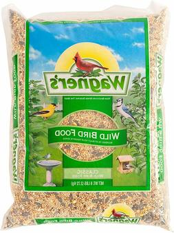 Wagner's 52003 Classic Blend Wild Bird Food, 6-Pound Bag,Gre
