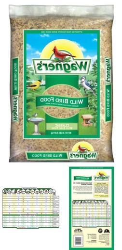 Wagner's 52004 Classic Wild Bird Food 20 Pound Bag sunflower