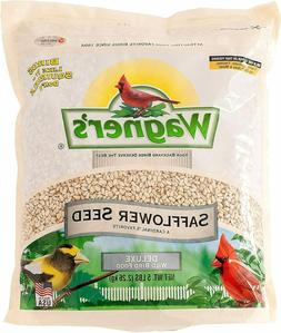Wagner's 57075 Safflower Seed, Bird Food  Bird Treat  5-Poun