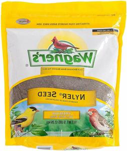Wagner's 62051 Nyjer Seed Finches Bird Food, 5 lb/ 10 lb Bag