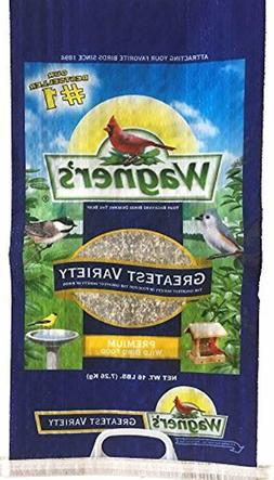 Wagner's 62059 Greatest Variety Wild Bird Food Blend