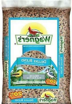 Wagners 13008 Deluxe Blend Wild Bird Food, 10-Pound Bag