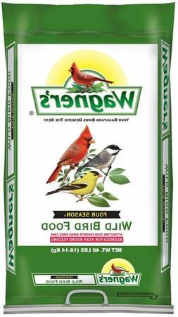 Wagners Four Season Wild Bird Food 40-Pound Bag Sunflower Se