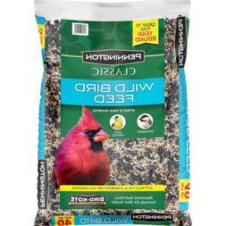 Wild Bird Food Seed Mix Birder's Blend Bulk 40lb Bag Feed Cl