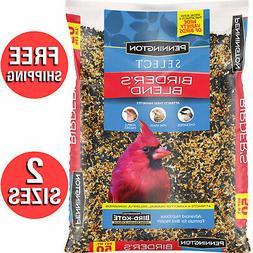 Wild Bird Food Seed Mix Birder's Blend Bulk 40lb 50lb Bag Fe