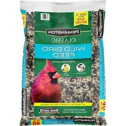 Wild Bird Food Seed Mix Birders Blend Bulk 40lb Bag Feed Pen