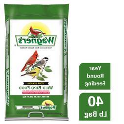 Wild Bird Food Seed Mix Bulk 40lb Bag Feed Wagner's 4 Season