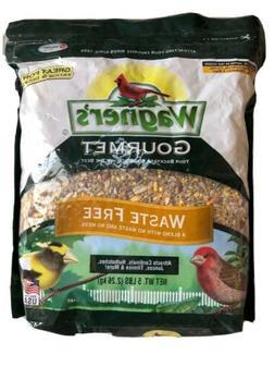 Wild Bird Food, Waste Free, Wagners Gourmet 5 lb Bag., No Fi