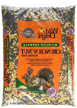 Wild Delight Crunch N Nut Squirrel Food Size: 8 Pound.