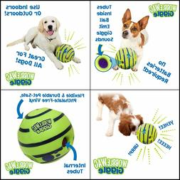 Allstar Innovations Wobble Wag Giggle Ball, Dog Toy, As Seen