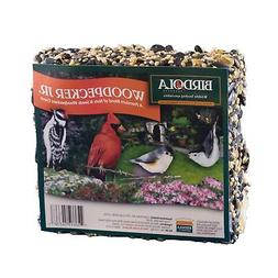 Birdola Woodpecker Junior Seed Cake, 8-Ounce, 3.8 x 1.5 x 4.