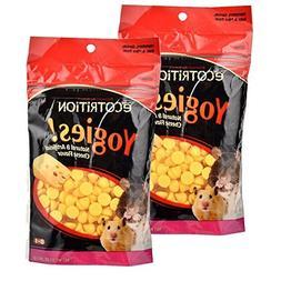 eCOTRITION Yogies Hamster/Gerbil/Rat Treats, Cheese Flavor,