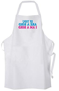 If You Are A Bird I Am A Bird – Adult Size Apron – Love