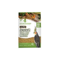 ZuPreemNatural Premium Bird Diet for Cockatiels with added M